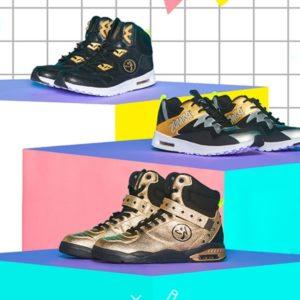 différents types de chaussures de zumba
